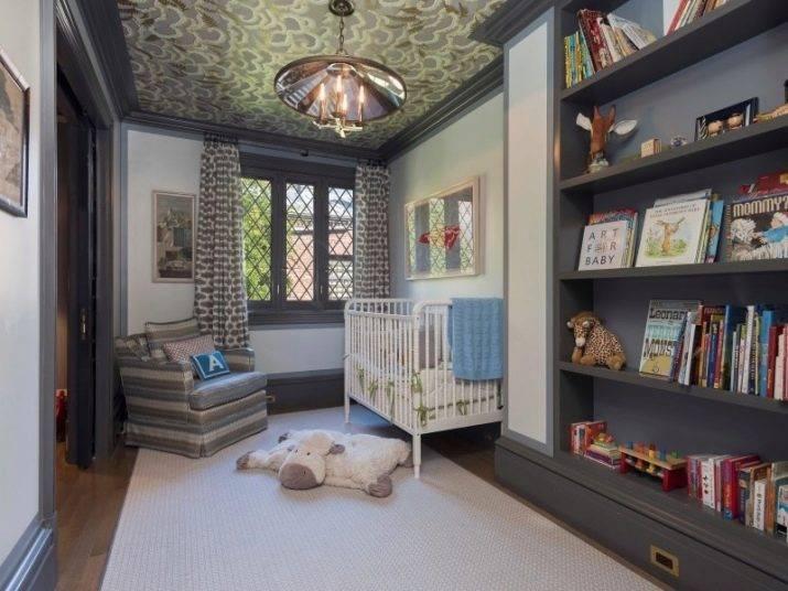 Как выбрать потолок в детской комнате при ремонте