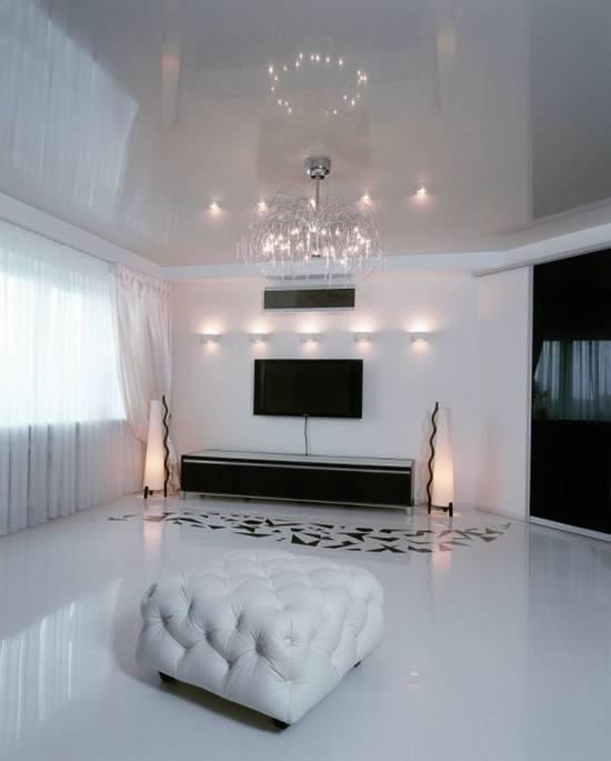 Декор потолка - советы по выбору материала, дизайна и цветового оформления потолка (85 фото + видео)