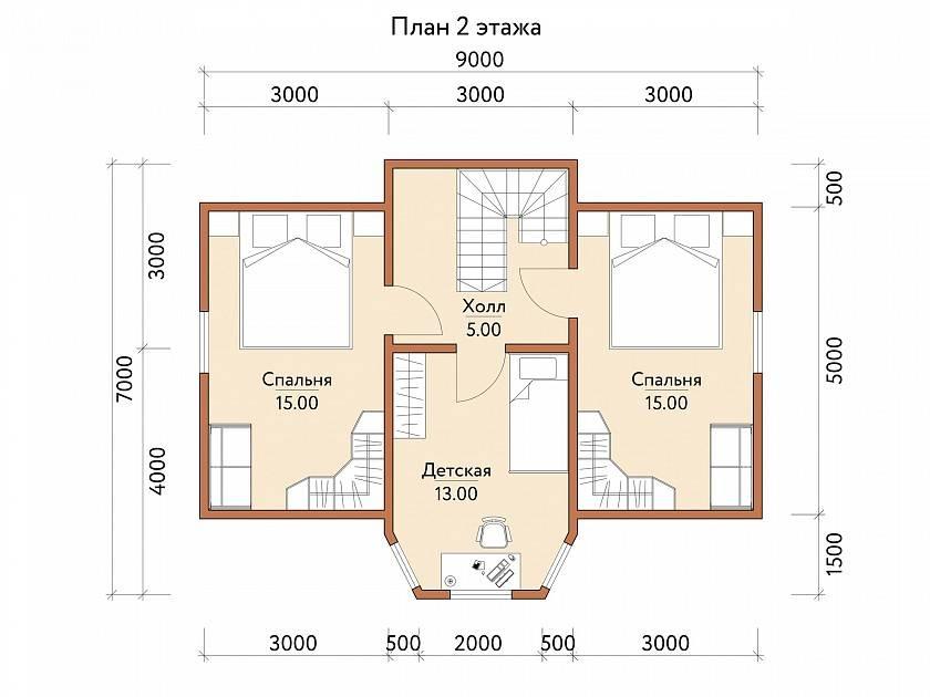 Проекты домов из бруса - собрание уникальных проектов деревянных домов