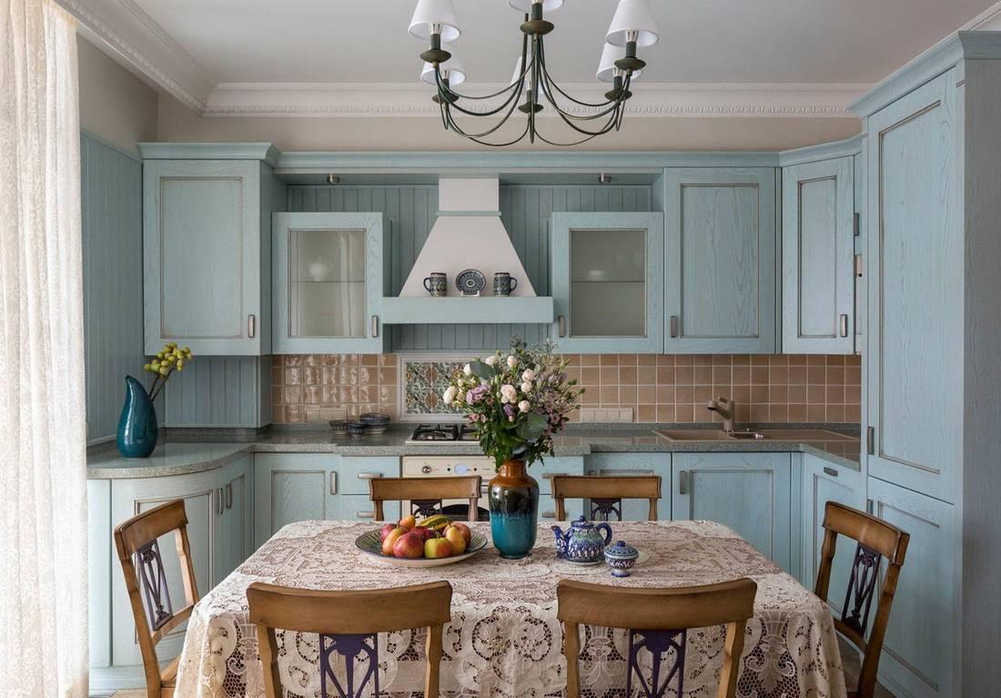 Кухня в деревенском стиле - 50 фото-идей