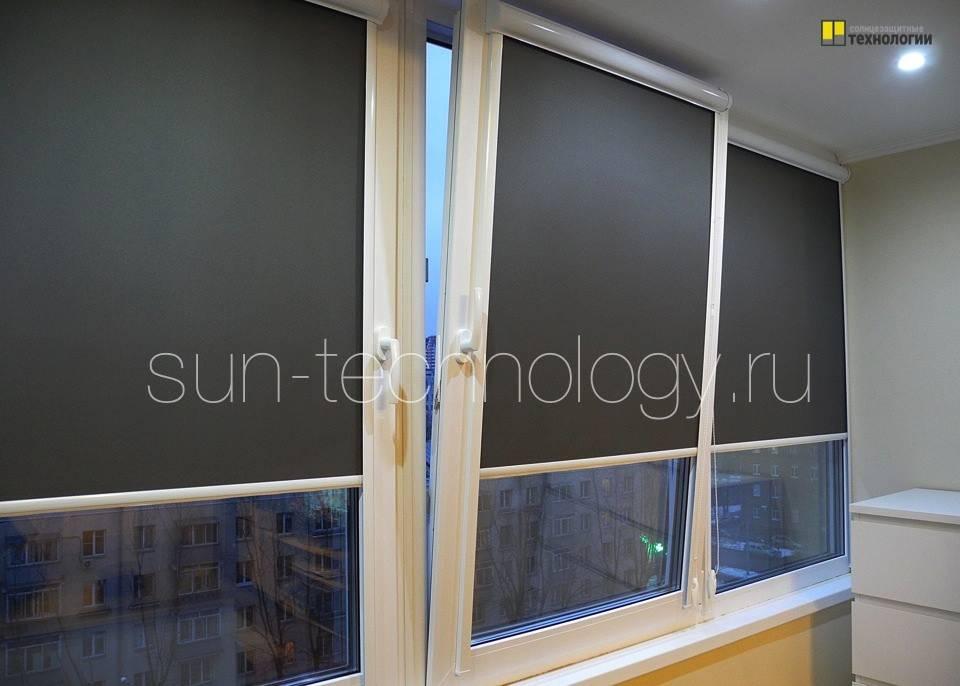 Рулонные шторы в интерьере - правила подбора и фото идеи использования