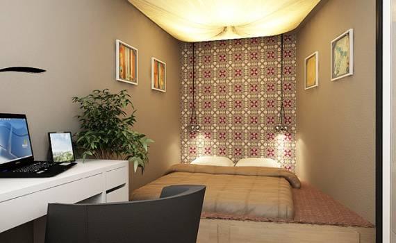 Планировка однокомнатной квартиры: лучшие варианты дизайна