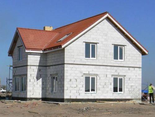 Поэтапное строительство дома из газобетона ⋆ domastroika.com