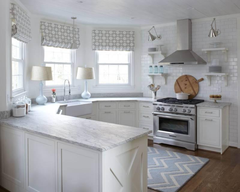 Навесные шкафы для кухни: как выбрать материал, форму и размер (реальные фото примеры)