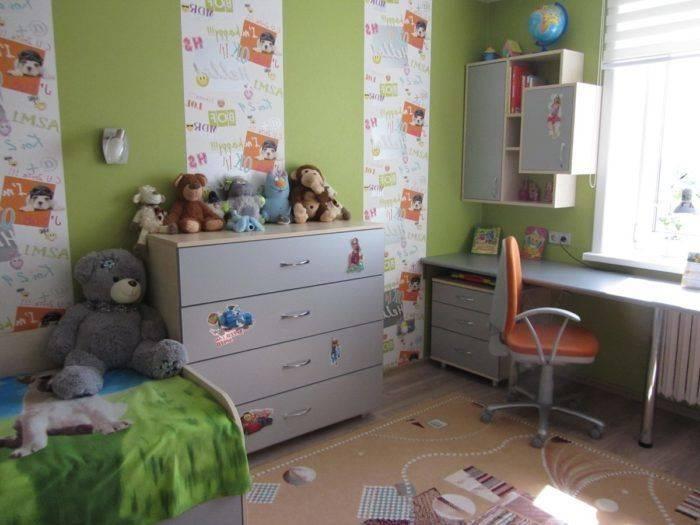 Дизайн комнаты для ребенка от 1 до 3 лет