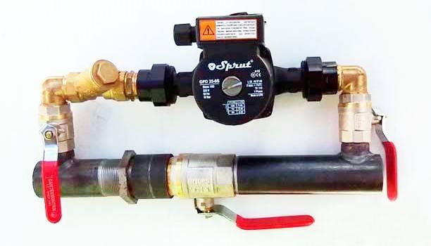 Байпас в системе отопления частного дома - для чего нужен, установка и принцип работы