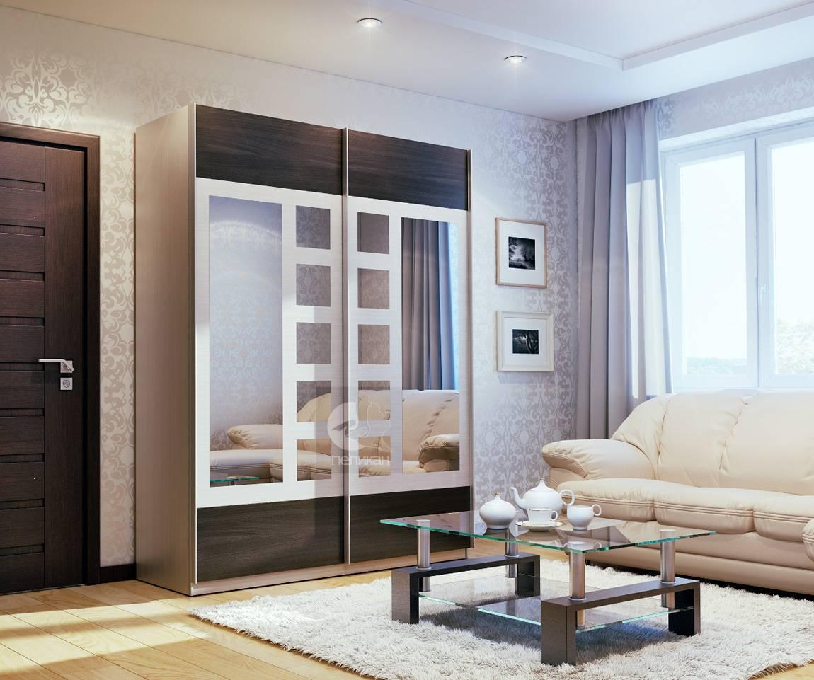 Шкафы-купе в интерьере — рассматриваем по полочкам