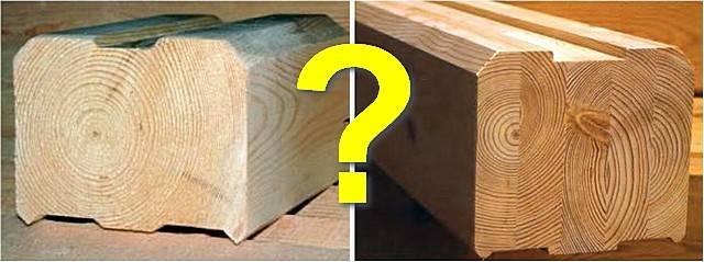 Какой вид бруса выбрать: обрезной или профилированный?