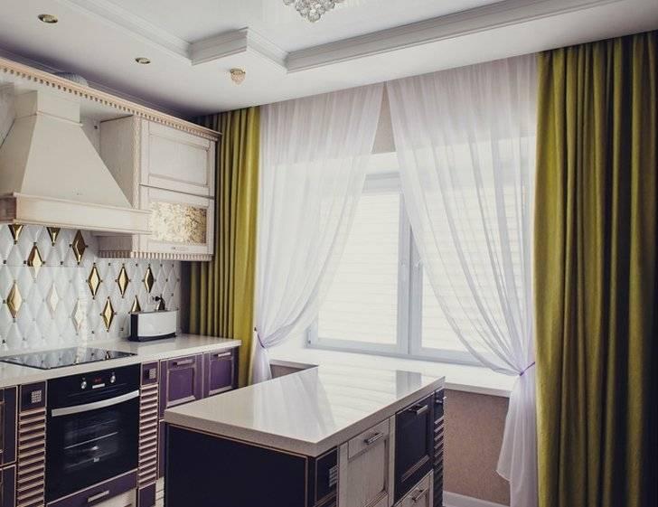 Короткие шторы на кухню - лучшие современные решения и особенности оформления кухни короткими шторами (155 фото)