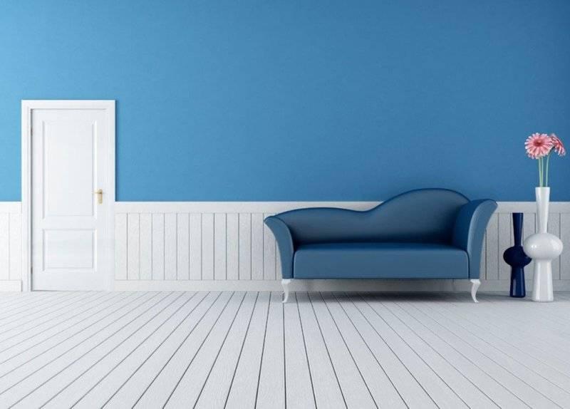 Обои синие для стен: когда применяются темно-синие или молочно синие обои в квартире, как их правильно приклеить и какие правила стоит соблюдать