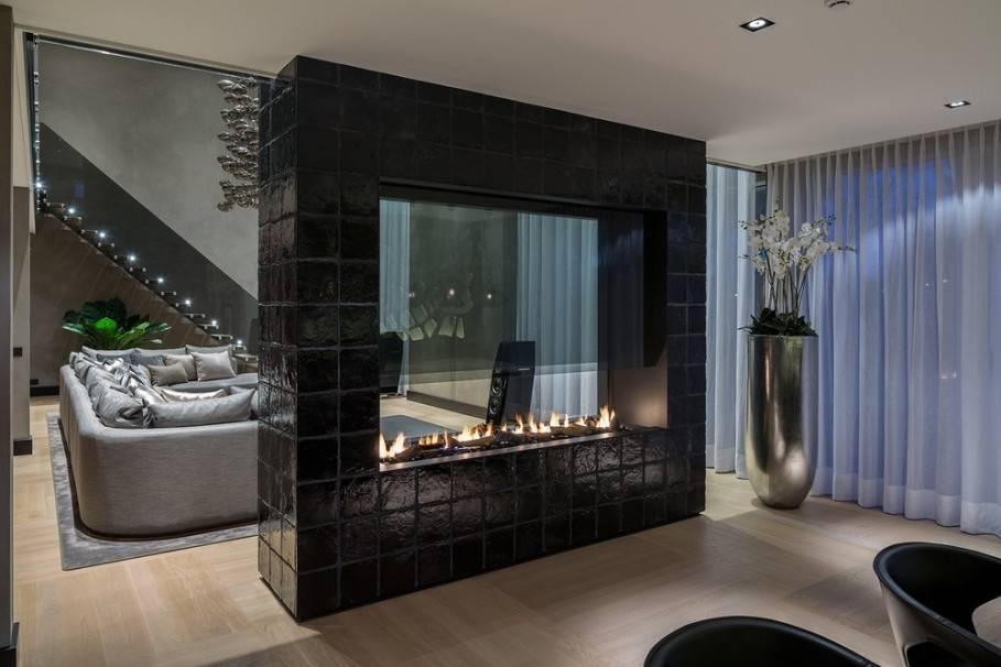 Двухсторонний камин в интерьере: 10 фото двухсторонний камин в интерьере: 10 фото