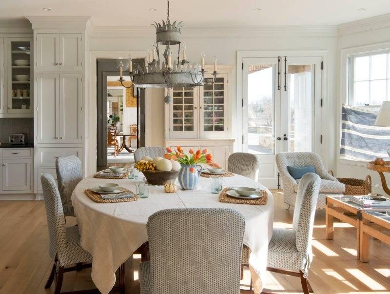 Декор кухни: как сшить скатерть для обеденного стола своими руками