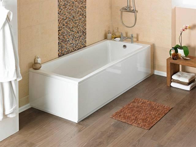 Как выбрать ванну: 5 пунктов + и - [акриловая - стальная - чугунная]