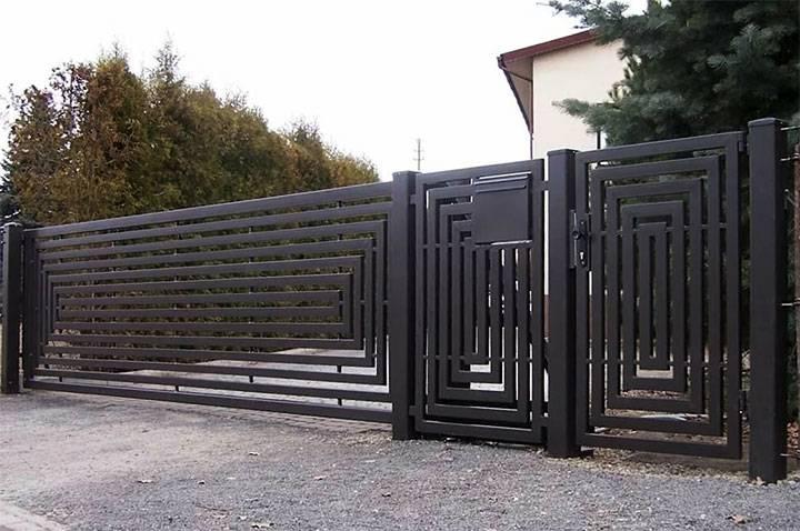Складные ворота: цепной привод для «гармошки», складывающиеся и складчатые варианты, раскладные вертикальные автоматические модели