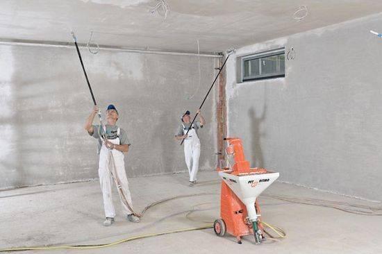 Штукатурка rotband - инструкция по применению: расход на 1 м2 стены, штукатурная смесь knauf
