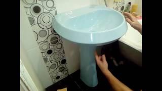 Как выбрать пьедестал для умывальника (раковины) в дом?