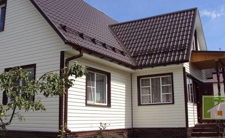 Варианты отделки домов сайдингом: материалы и их свойства, 37 примеров отделки на фото