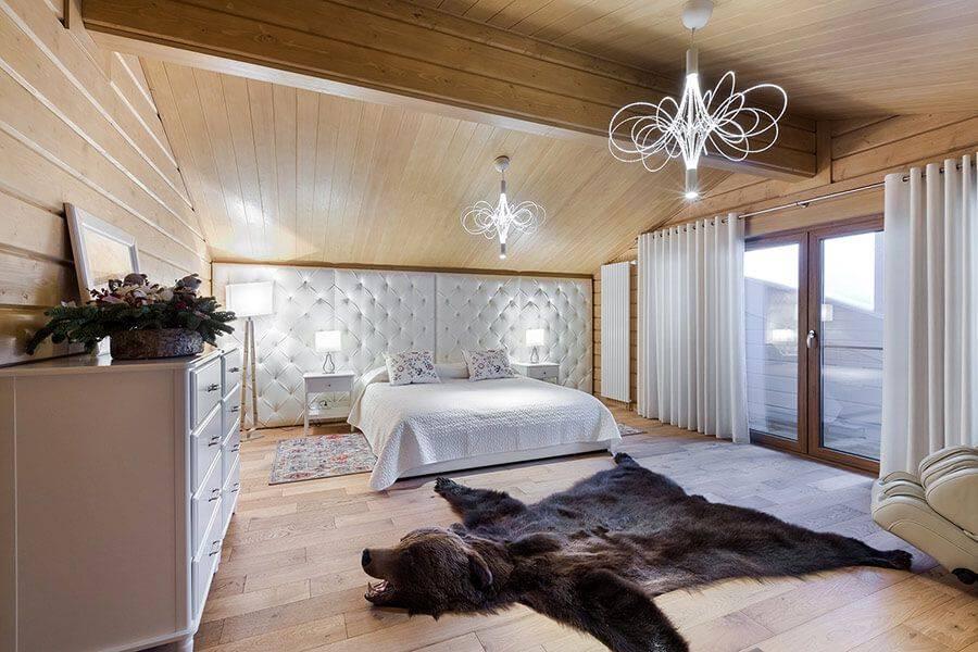 Спальня в деревенском стиле — 100 фото примеров необычного дизайна в спальне