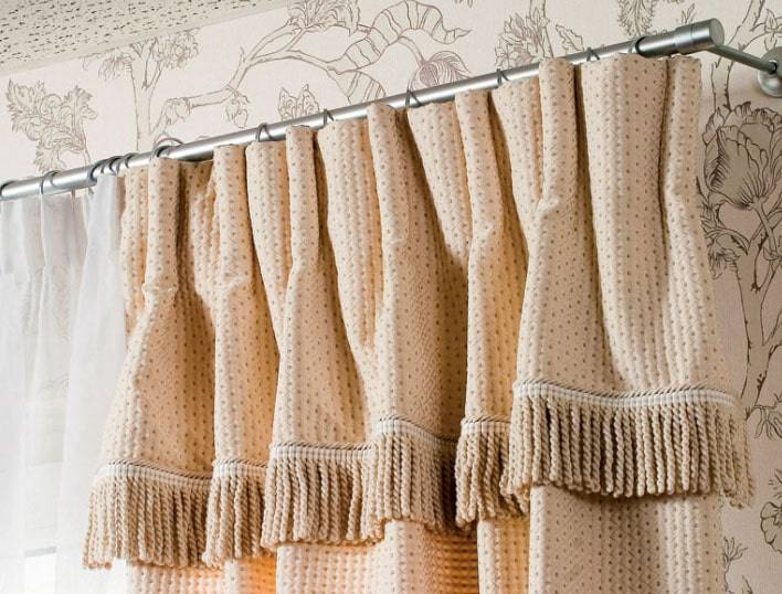 Как можно повесить шторы