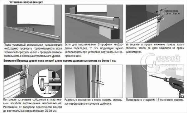 Автоматические секционные ворота: плюсы и минусы
