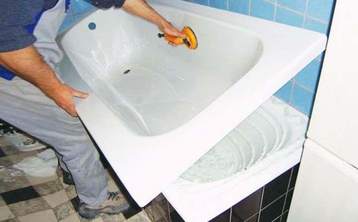 Покраска ванны своими руками, чем это можно сделать самостоятельно и видео процесса