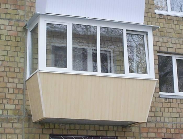 Как сделать выносной балкон в квартире - схема установки