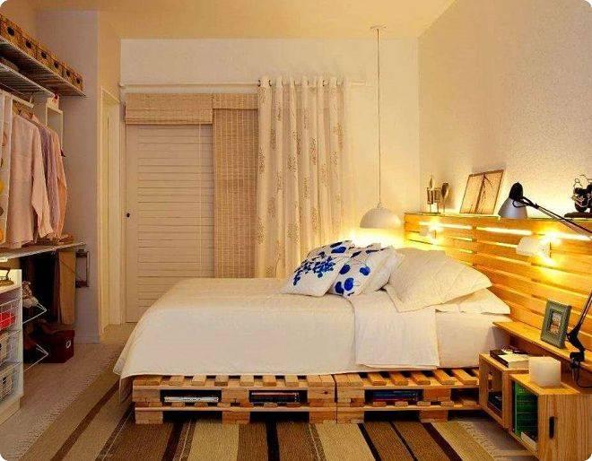Кровать из поддонов (71 фото): как сделать двуспальную из паллетов своими руками пошаговый мастер-класс, с подсветкой и в стиле лофт