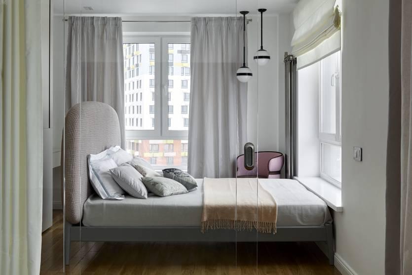 Тюль в спальню: 145 фото самых модных комбинаций и дизайна. примеры идеального выбора цвета и стиля для тюля в спальню
