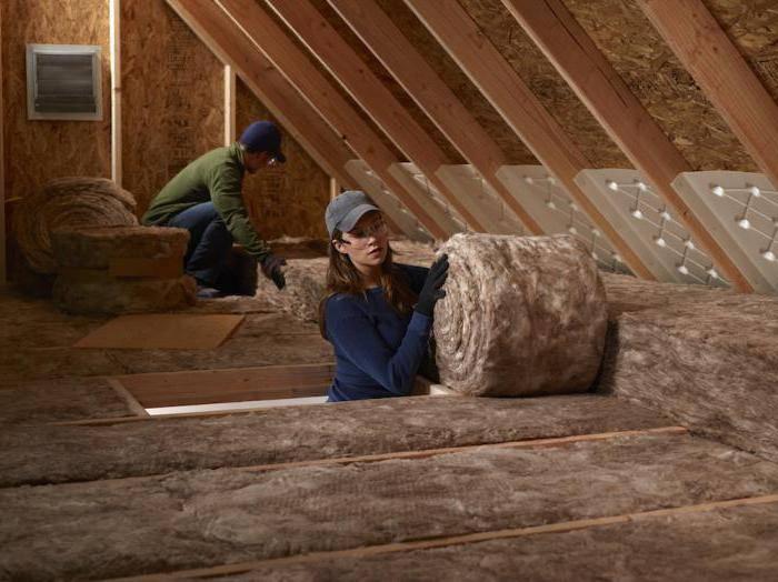 Утеплитель для крыши: особенности выбора