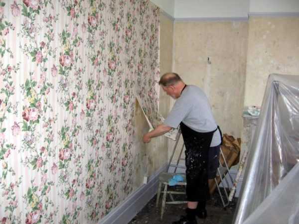 Самые эффективные способы снятия старых обоев со стен