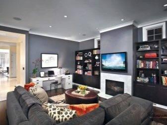 Выбор дизайна гостиной спальни