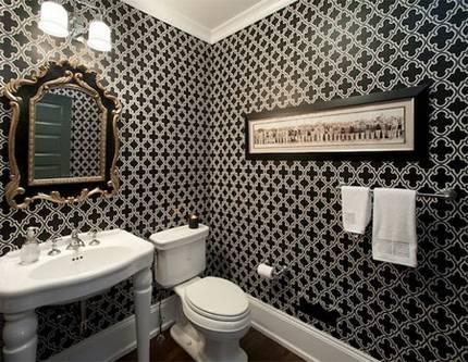 Влагостойкие фотообои для ванной комнаты — виды и особенности