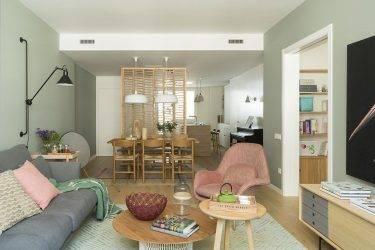 Особенности разделения комнаты на две зоны