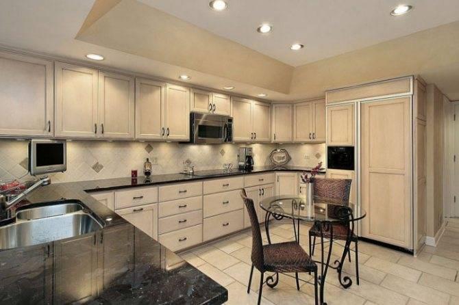 Кремовая кухня: дизайн интерьера, 50 фото проектов, мебель