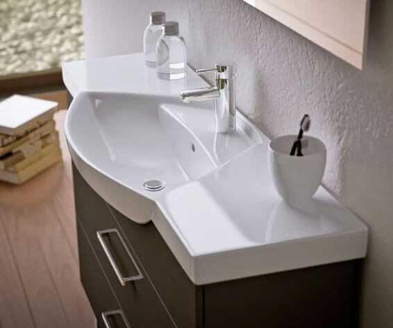 Высота установки раковины в ванной и туалете от пола по стандартам