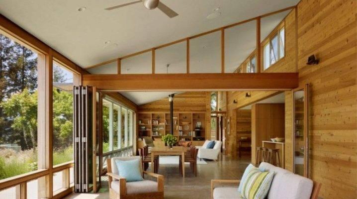 Тонкости внутренней отделки каркасного дома