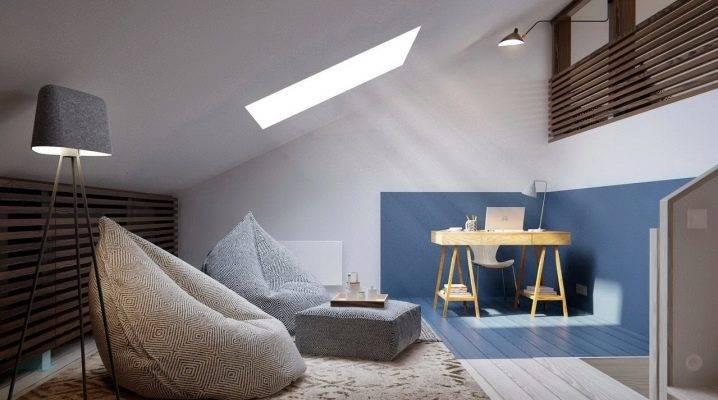Дизайн спальни на мансарде: 200+ (фото) оформленных интерьеров
