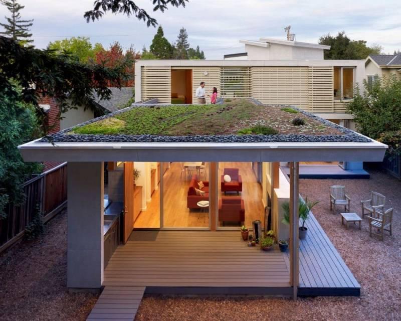 100 современных вариантов: крыши частных домов на фото