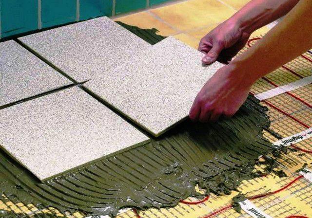 Как сделать электрический теплый пол под плитку своими руками: делаем монтаж правильно