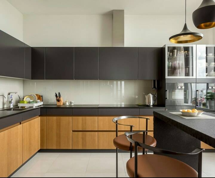Зеркальная кухня – 50 фото, идеи применения и гид по выбору