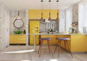 Обои для кухни - 100 лучших идей оформления дизайна обоев на кухне: красивый ремонт на фото
