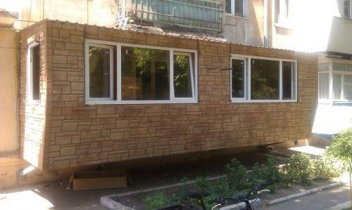Стандартные размеры балконов и лоджий: как увеличить балкон в хрущевке