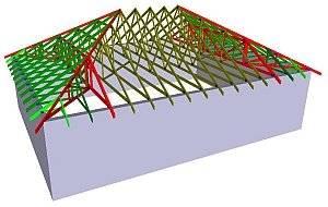 Вальмовая четырехскатная крыша своими руками - устройство, как правильно сделать конструкцию, подробно на фото и видео