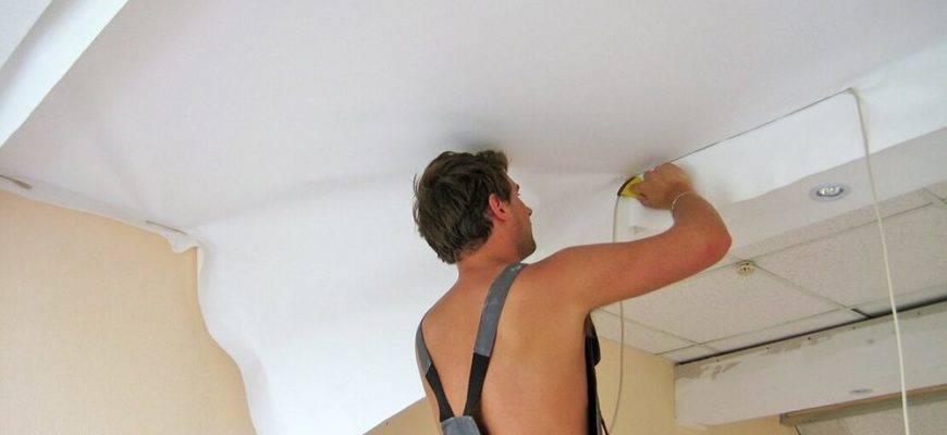Шпаклевка потолка своими руками: браться или не стоит