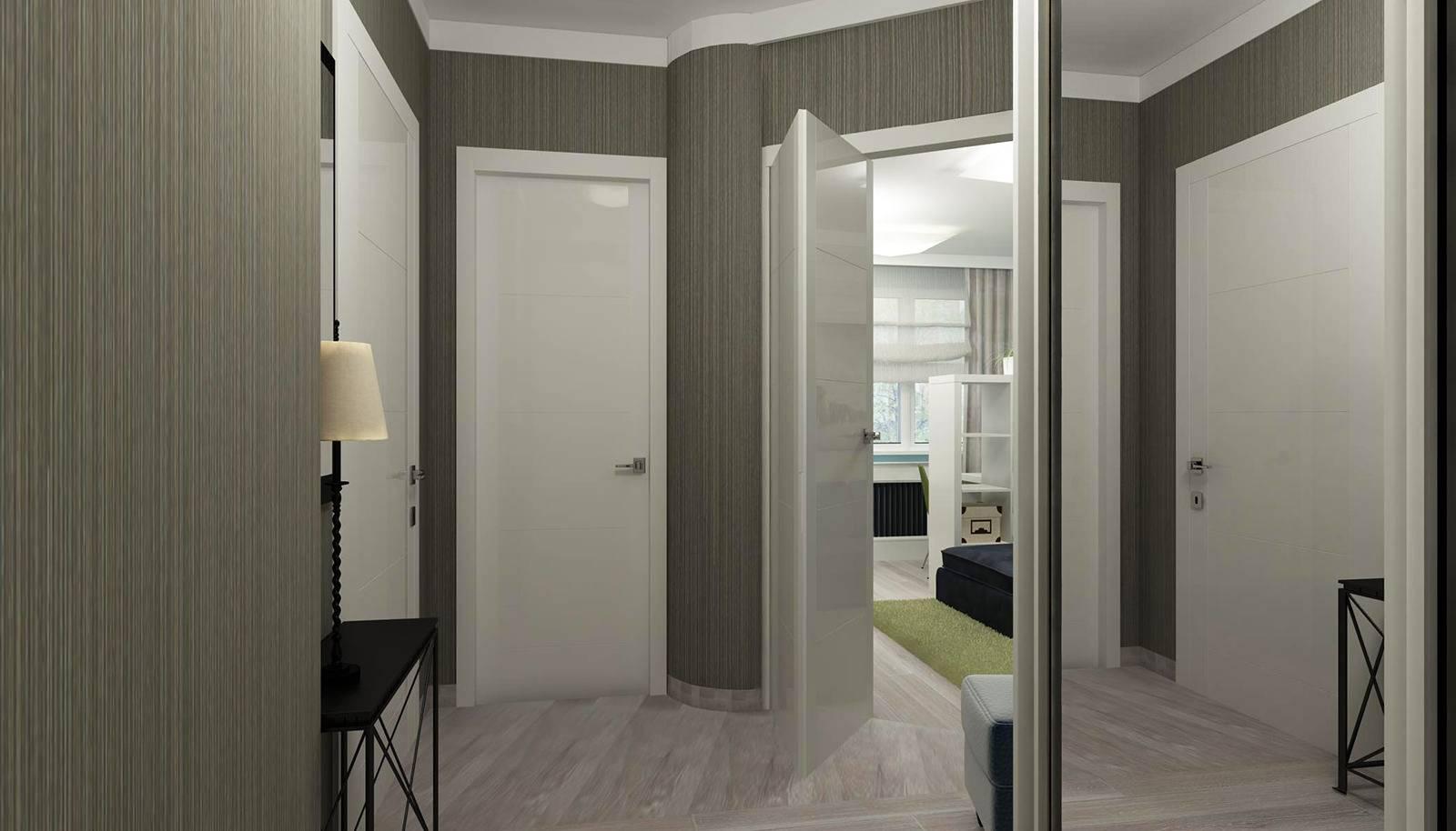 Темные и светлые двери в интерьере - фото примеров