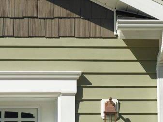 Дома обшитые сайдингом: фото отделки фасадов домов сайдингом различных вариантов
