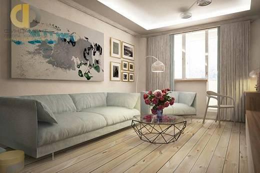 Дизайн-проект трехкомнатной квартиры п44т: особенности проектировки и перепланировки