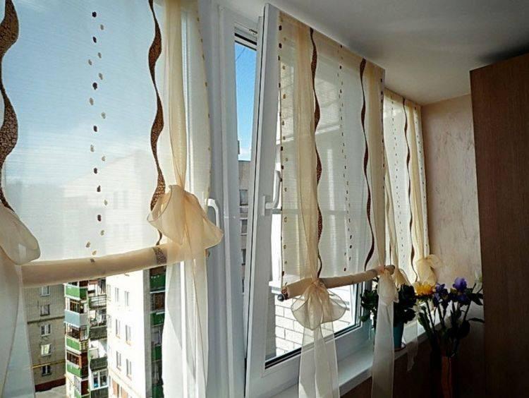Шторы на балкон - 155 фото моделей и самых красивых вариантов штор