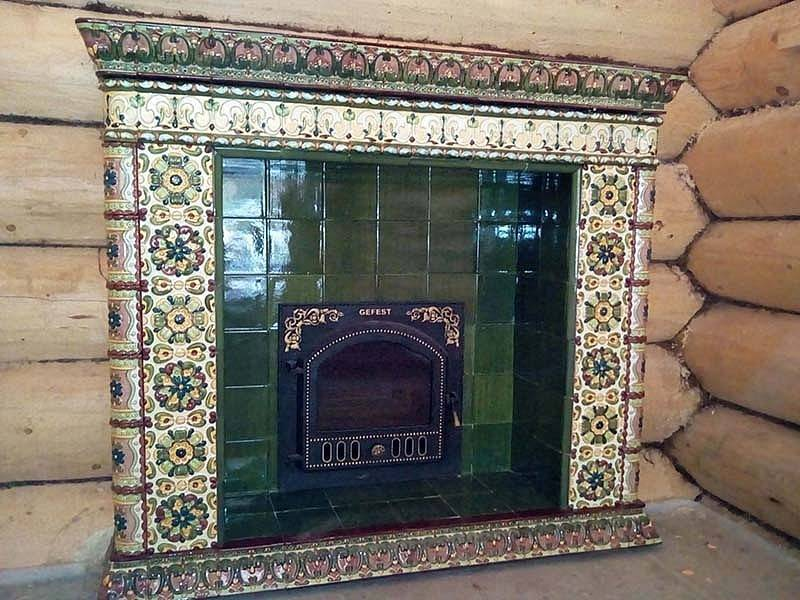Камин-печь в интерьере (46 фото): как выбрать оформление для камина, изразцовые печи - что можно поставить рядом