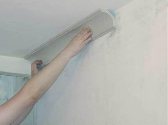 Как заделать трещины на потолке из гипсокартона после покраски